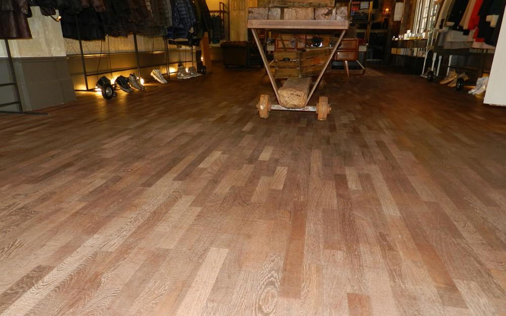 restauro pavimenti legno