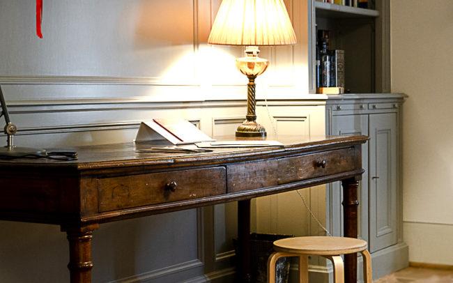 Parquet Quadrotte Versailles reading room