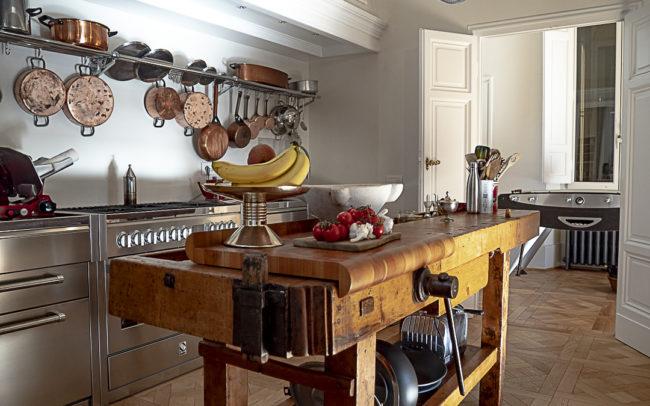 Parquet Quadrotte Versailles kitchen room